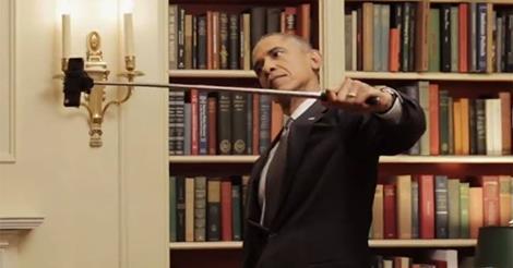 Obama szelfizik