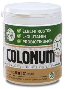 Colounum-por, rost- és probiotikum-tartalmú készítmény