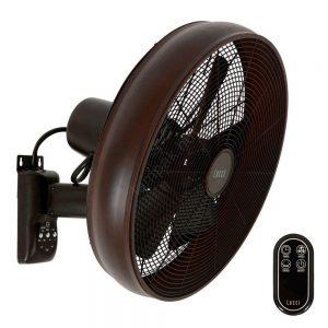 Falra rögzíthető ventilátor