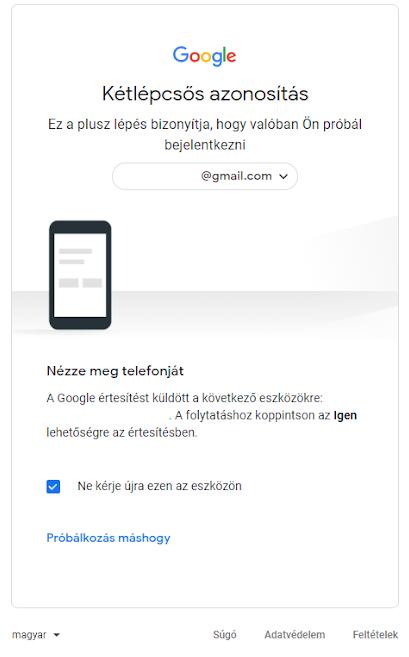 Gmail belépés