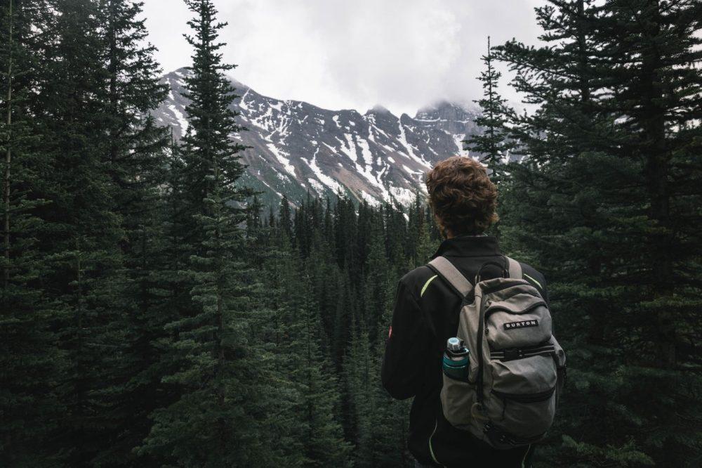 Hátizsákos túra a hegyekben