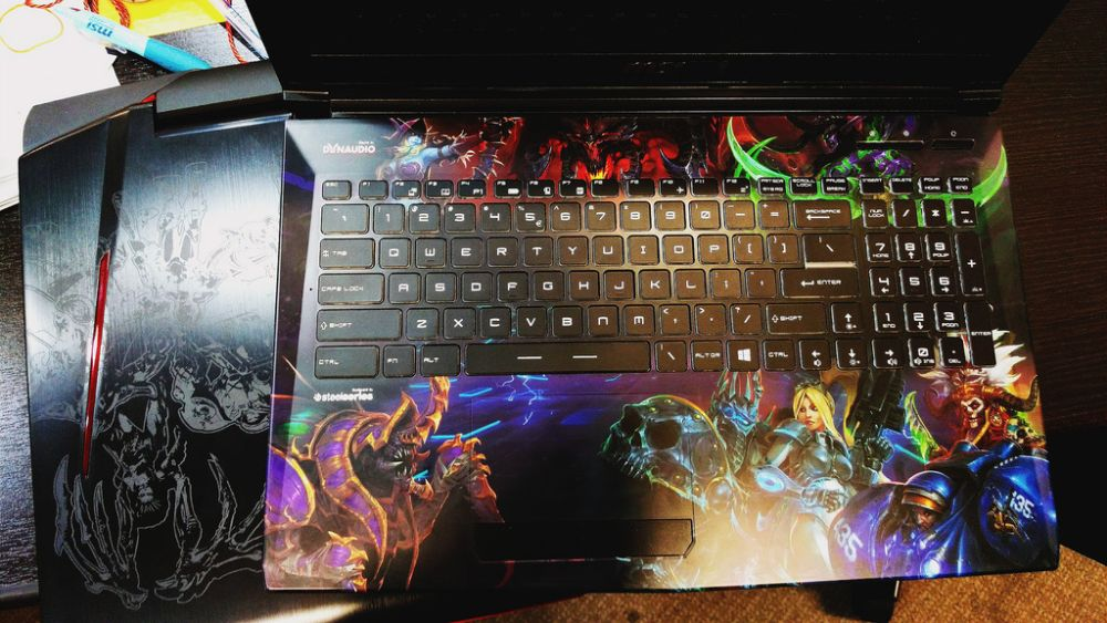 MSI Heroes of the Storm laptop
