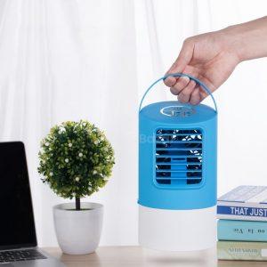Hordozható léghűtő kocka