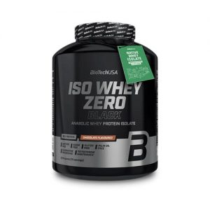 BioTech Iso Whey Zero Black tejsavófehérje - izolátum alapú italpor 2270 g