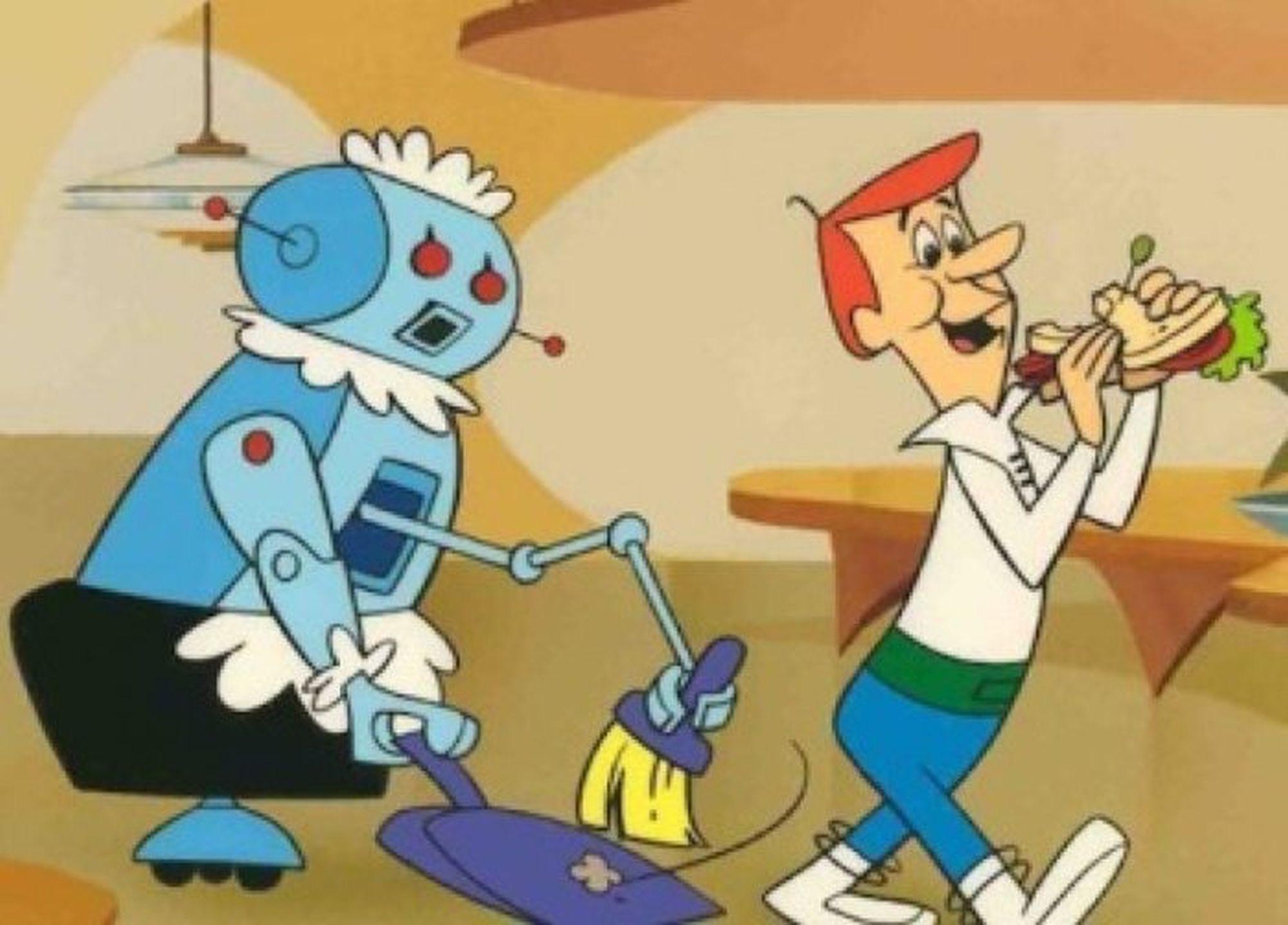 Jetson család Rosey, takarító robot