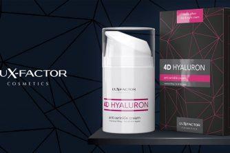 Lux Factor 4D Hyaluron ránctalanító krém teszt