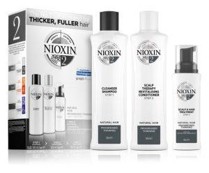 Nioxin System 2 szett vékony szálú hajra