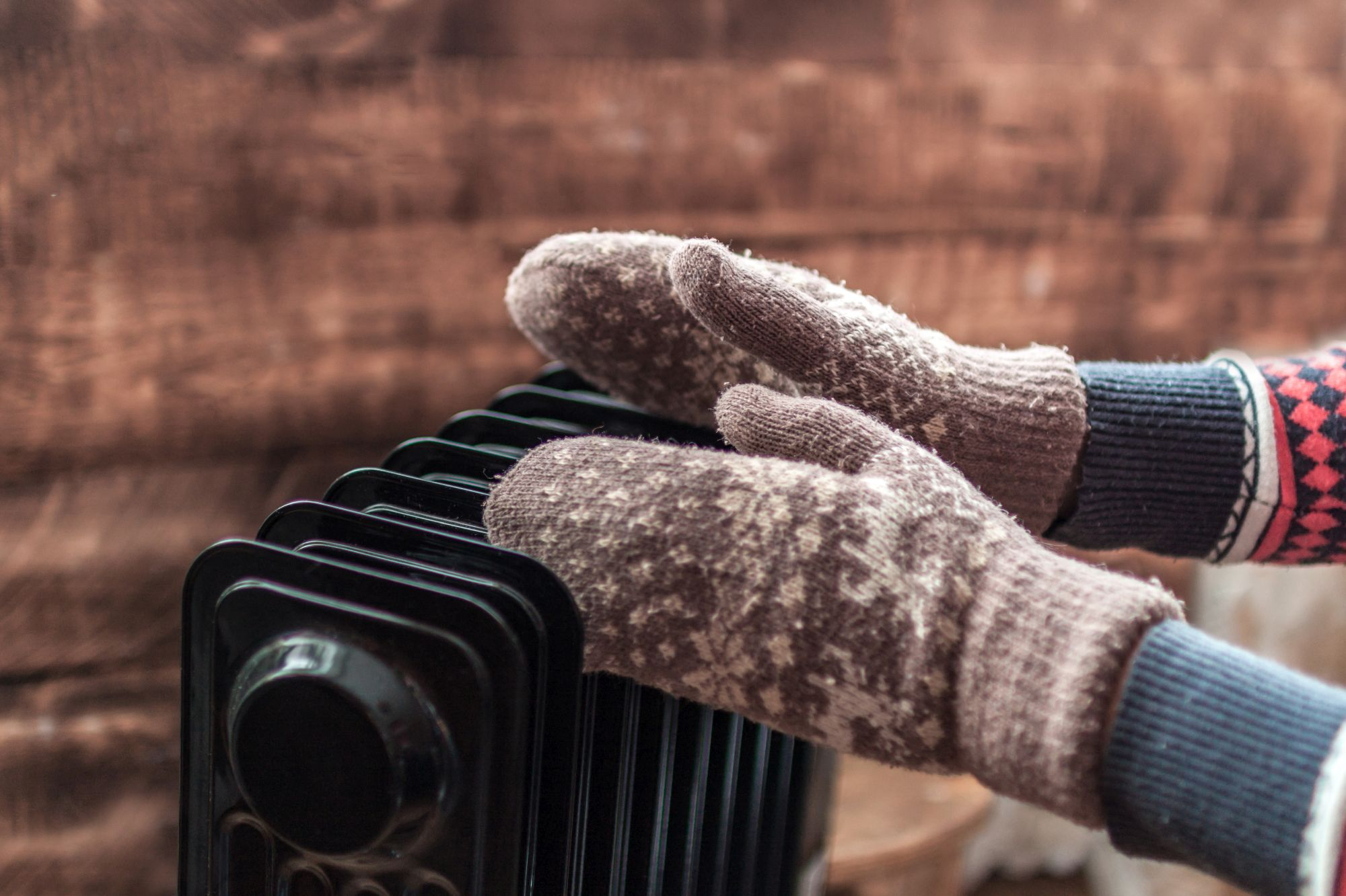 Radiátoron melegedés