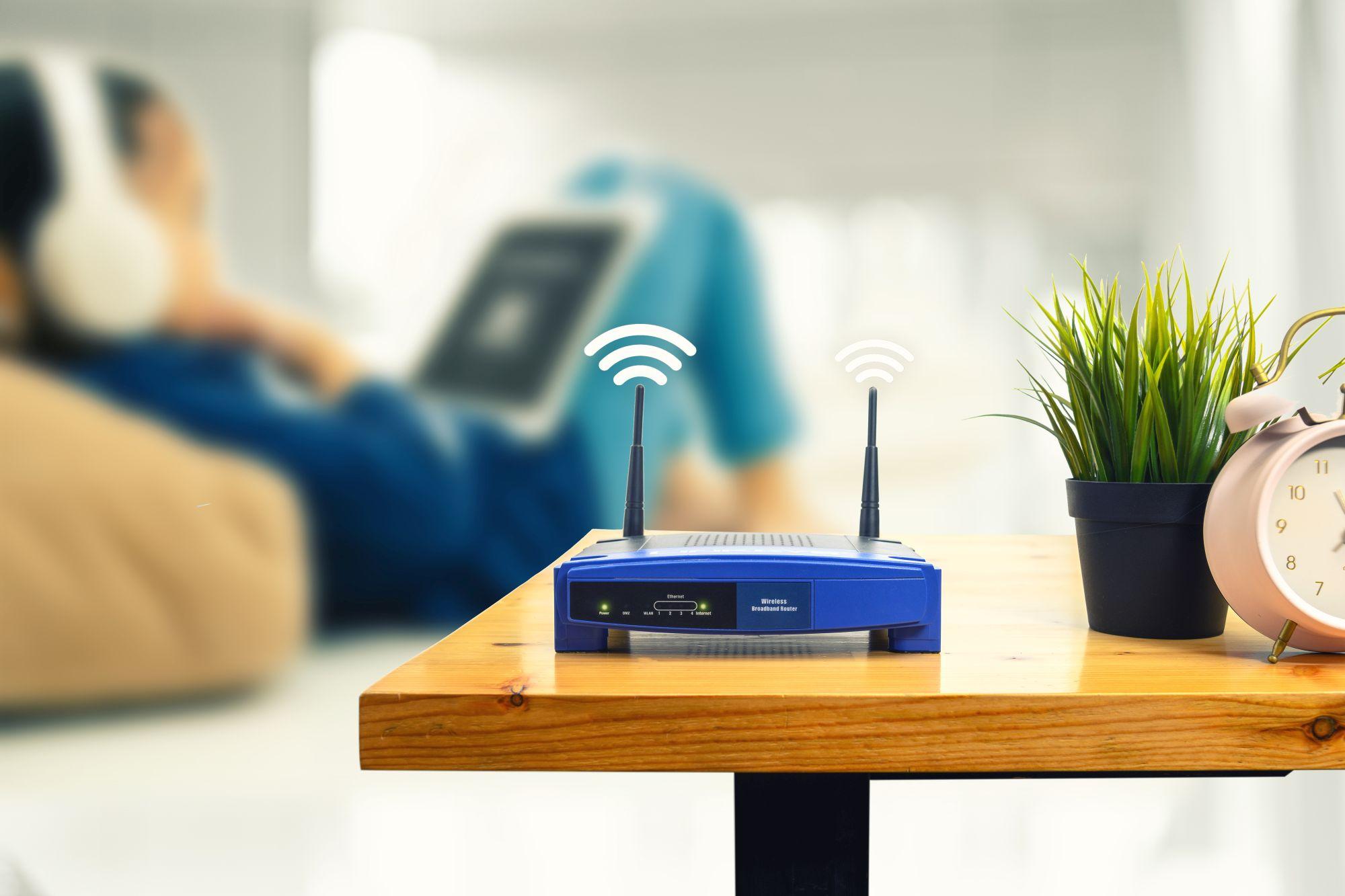 router wifi jellel