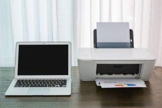 Számítógép és nyomtató