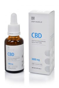 USA medical CBD olaj 3000 mg
