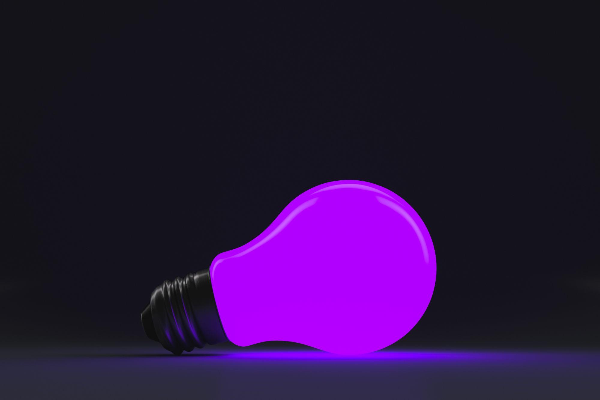 UV fénnyel működő rovarcsapdába való izzó