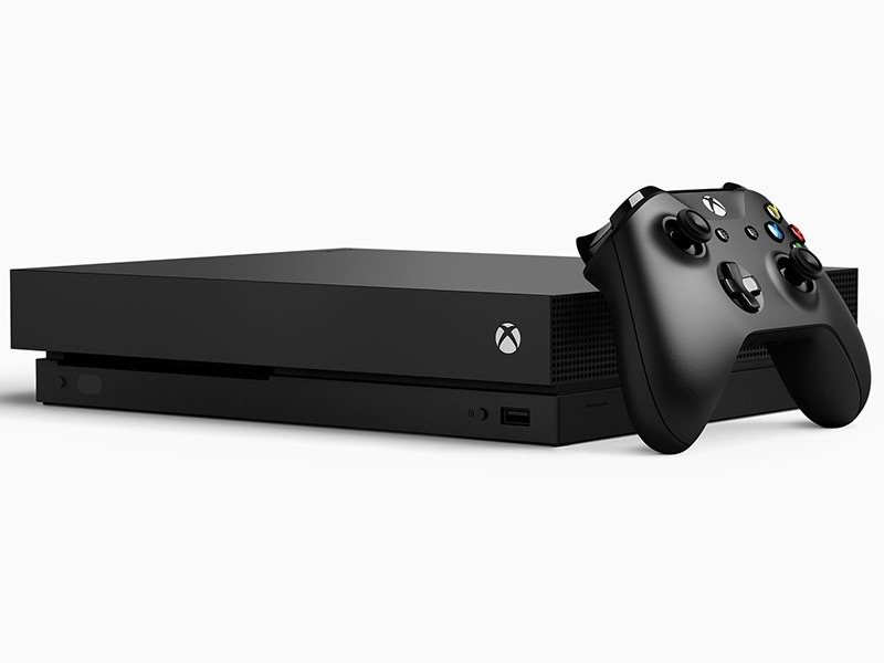 Xbox One X konzol